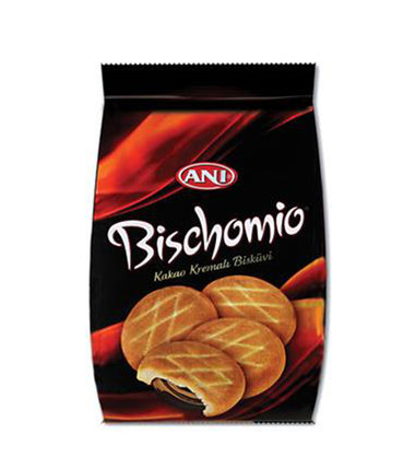Anı Bischomio Bisküvi, Biscuit Filled With Hazelnut Cream