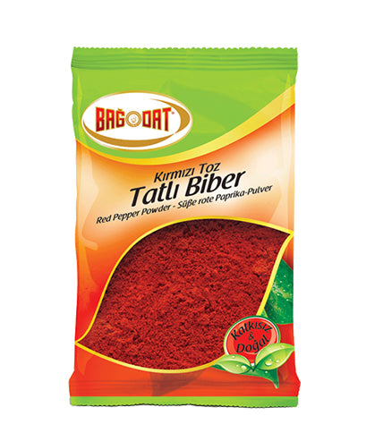 Bagdat Tatli Kirmizi Biber, Sweet Red Pepper 75gr