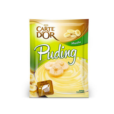CARTE D'OR - MUZLU PUDING