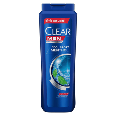 CLEAR MEN COOL SPORT MENTOL ŞAMPUAN