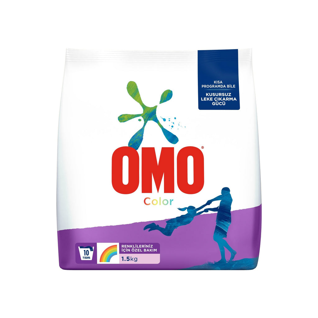 OMOMATIK - COLOR LAUNDRY DETERGENT 1.5 kg