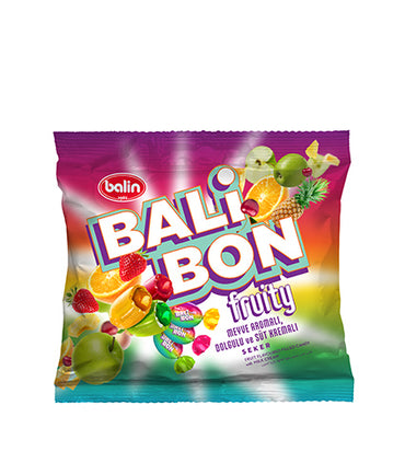 Balin Balibon Meyve Dolgulu Şeker, Candy With Real  Fruity Filling