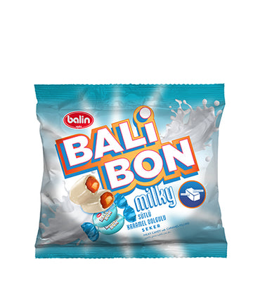 Balin Balibon Süt Dolgulu Şeker, Candy With Real Milky Filling