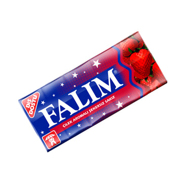 FALIM CHEWING GUM with STRAWBERRY 70g