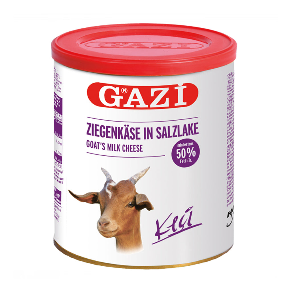 GAZI - Goat Milk Cheese 50% FAT in brine 400 g