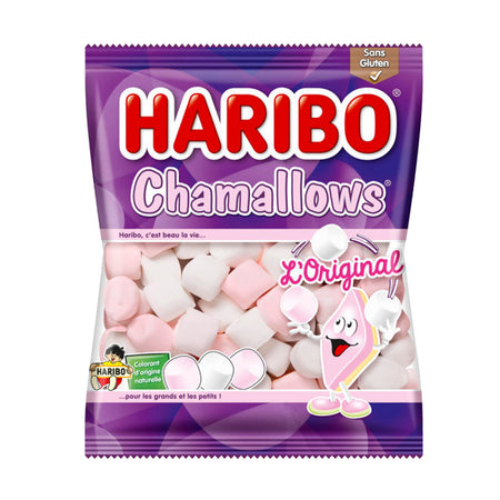 HARIBO CHAMALLOWS PINK & WHITE 150 g