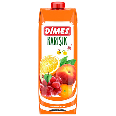 Dimes - MIXED FRUIT JUICE 1 LT / Karisik Meyve Suyu