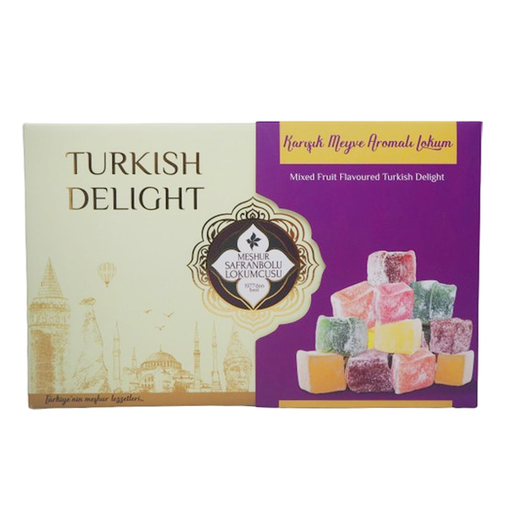 Meshur Safranbolu Lokumcusu  - Mixed Fruit Flavoured T. Delight 200gr