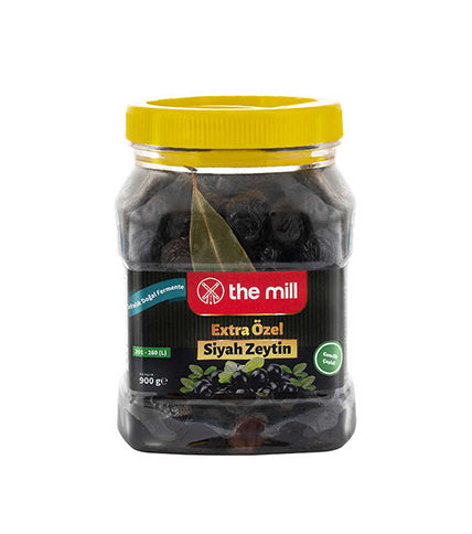 The Mill Siyah Zeytin Pet XS 900gr