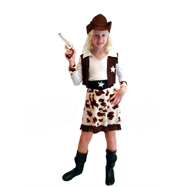 Aj Costumes - Cow Girl
