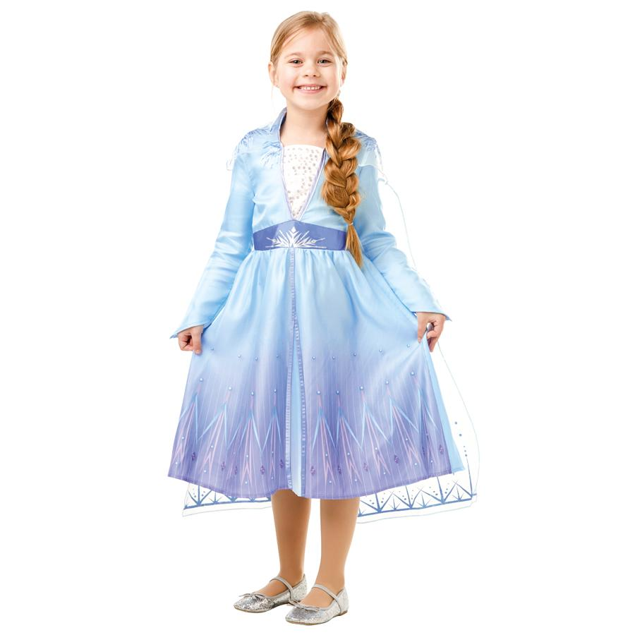 Disney Frozen 2 Official Classic Elsa Travel Dress-shopzinia