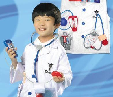 DOCTOR Costume Kids -Aj Costumes- 13882