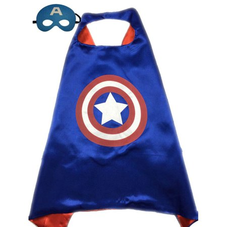 Captain America Cape and Mask