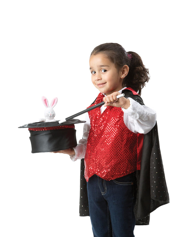 Magician Dress-Up Kids Costume GIRLS  Set-Halloween-Aj costumes