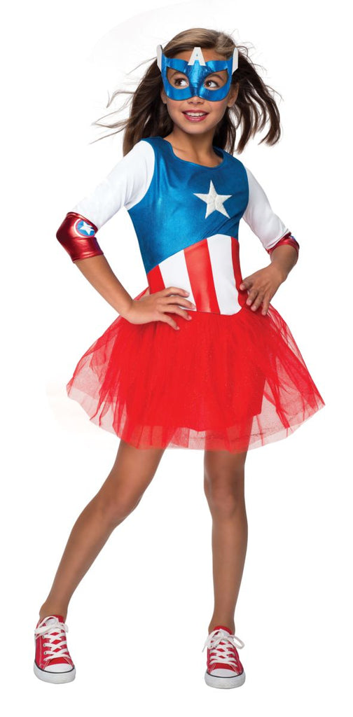 Rubies Metallic Dress Kids American Dream Costume