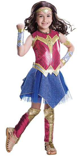 Rubies Deluxe Kids Wonder Woman Costume