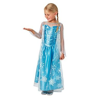 Disney Frozen Snow Queen Elsa Deluxe Costume-shopzinia costume