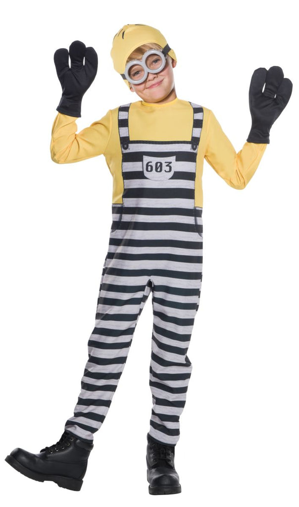 Rubies Kids Jail Minion Tom