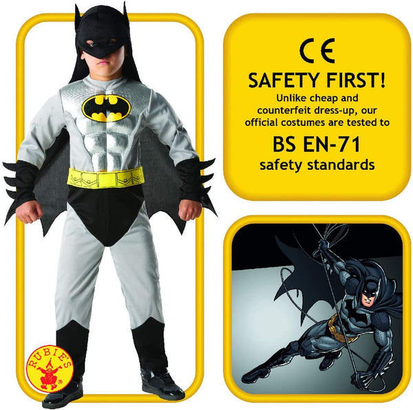Dc Comics Metallic Batman Costume