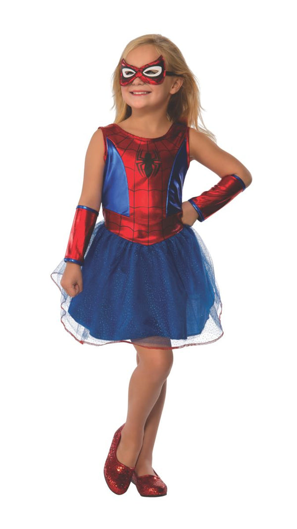 Tutu Dress Kids Spider-Girl Costume