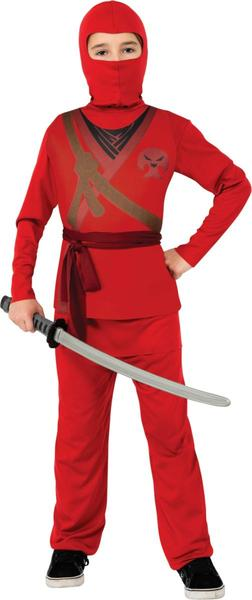 Rubies Costume H/C Red Ninja