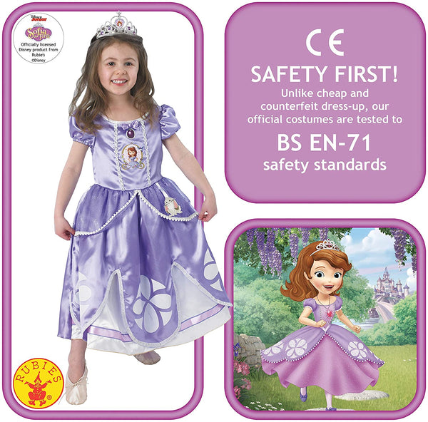 Disney Sofia The First Deluxe Princess Sofia Costume
