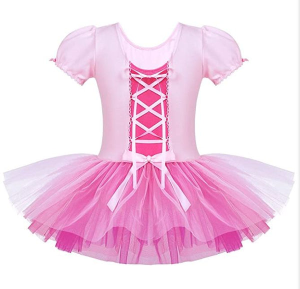 Girls Ballerina Ballet Tutu Costume Dress