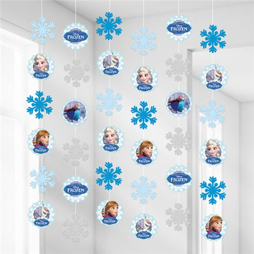 Disney Frozen Ice Skating Hanging Decorations