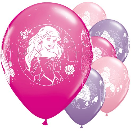 "Disney Princess Balloons - 12"" Latex"
