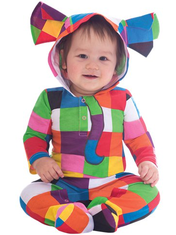 Elmer the Patchwork Elephant - 12-18 Months