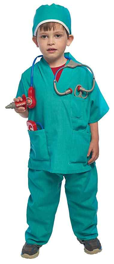 Kid's Surgeon Costume Set