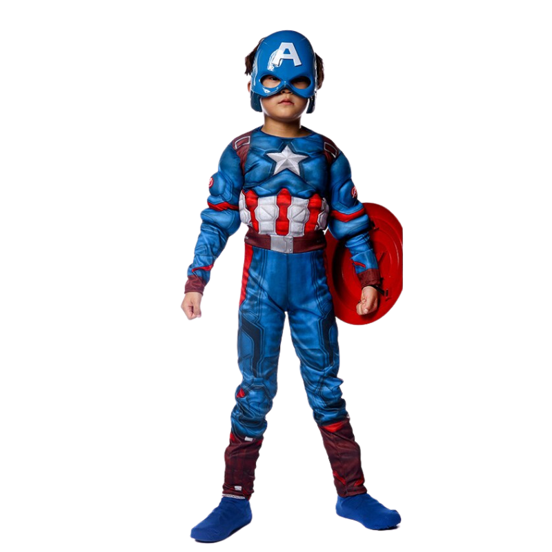 Child Cosplay Super Hero Halloween Costumes For Kids Boys