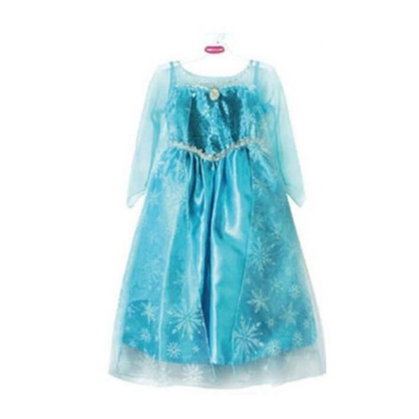 Shopzinia -elsa frozen costumes kids dress