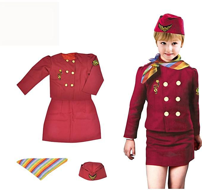 Air Hostess Suit Set-shopzinia costumes
