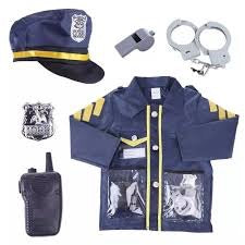 Dress Up Police Officer Costume