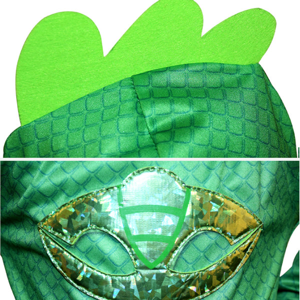 Birthdays Cosplay Costume Kids gecko -Green -AJ COSTUMES