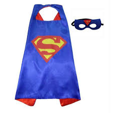 Super Man Cape and Mask