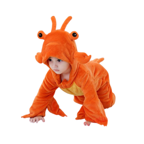 Lobster Baby Infant Toddler Halloween Animal onesies Costumes