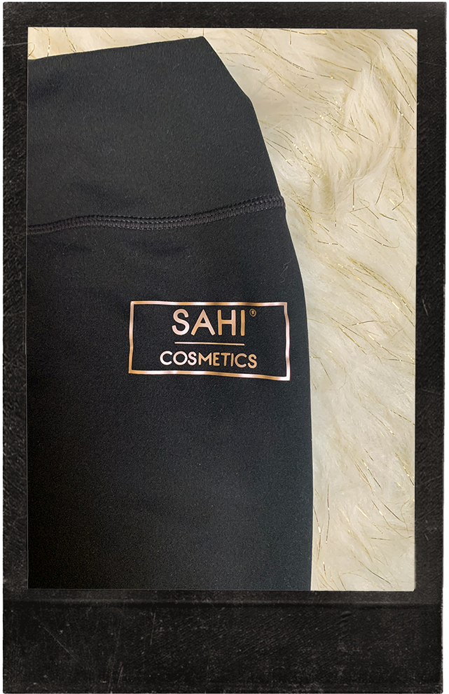 New! Black High Waisted Leggings - Sahi Cosmetics