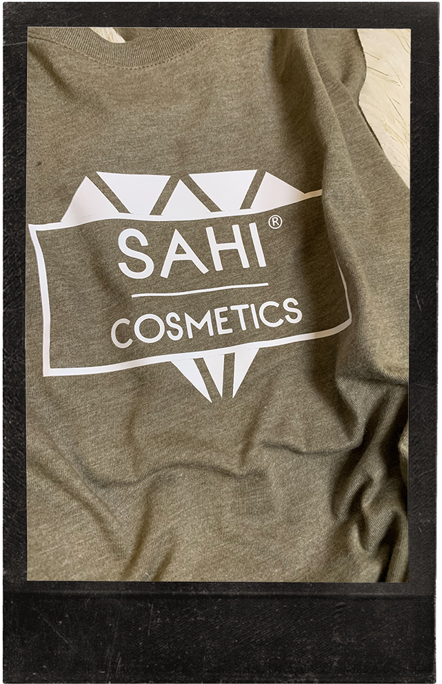 New! Heather Olive Cropped Racerback Tank - Sahi Cosmetics