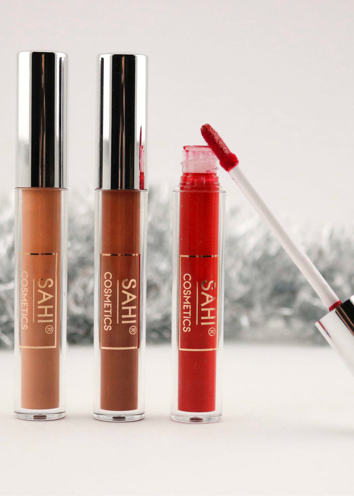 Holiday Lip Kit - Sahi Cosmetics