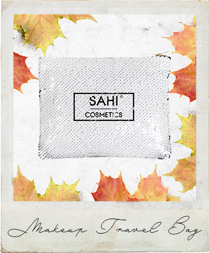 New! Makeup Travel Bag - Sahi Cosmetics
