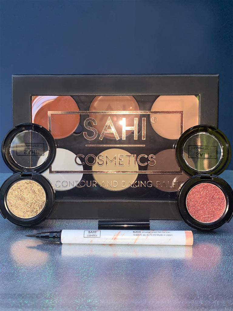 New! 'Snatched and Glowing' Eye & Face Kit - Sahi Cosmetics