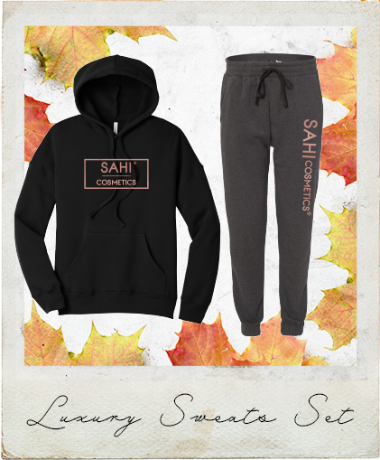 New! Luxury Sweats Set (LIMITED TIME ONLY) - Sahi Cosmetics