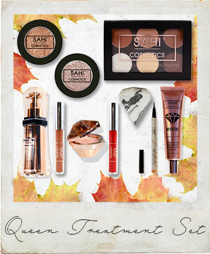 New! Queen Treatment Bundle Set (LIMITED TIME ONLY) - Sahi Cosmetics