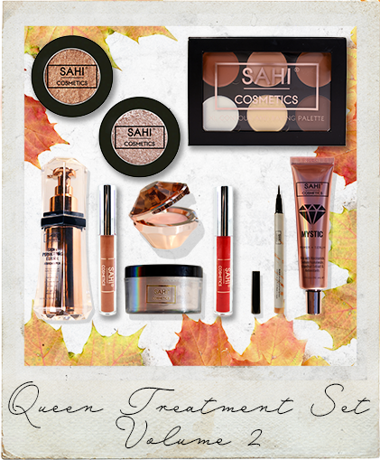 New! Queen Treatment Bundle Set Volume 2 (LIMITED TIME ONLY) - Sahi Cosmetics