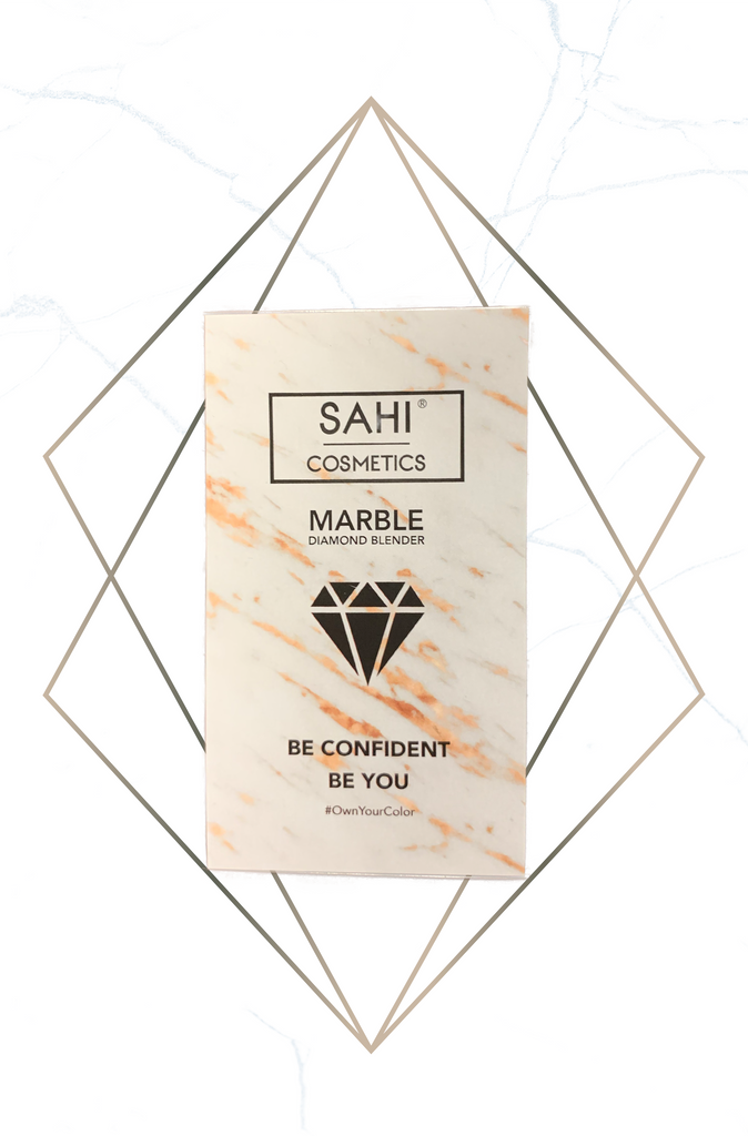 New! MARBLE Diamond Blender - Sahi Cosmetics