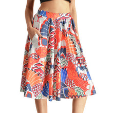 0007 Sexy Girl The 3D Midi Knee Skirts With Pocket - 0001 / S