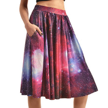0007 Sexy Girl The 3D Midi Knee Skirts With Pocket - 0003 / S