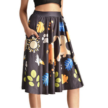 0007 Sexy Girl The 3D Midi Knee Skirts With Pocket - 0004 / S